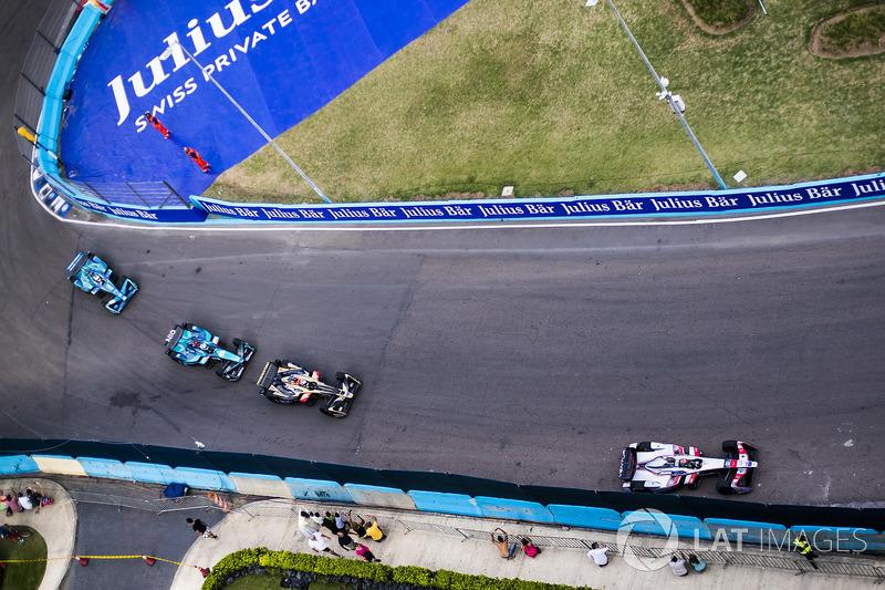 Edoardo Mortara, Venturi Formula E Team., Andre Lotterer, Techeetah, Luca Filippi, NIO Formula E Team & Tom Blomqvist, Andretti Formula E Team