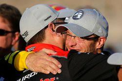 Le poleman Sébastien Bourdais, Dale Coyne Racing with Vasser-Sullivan Honda