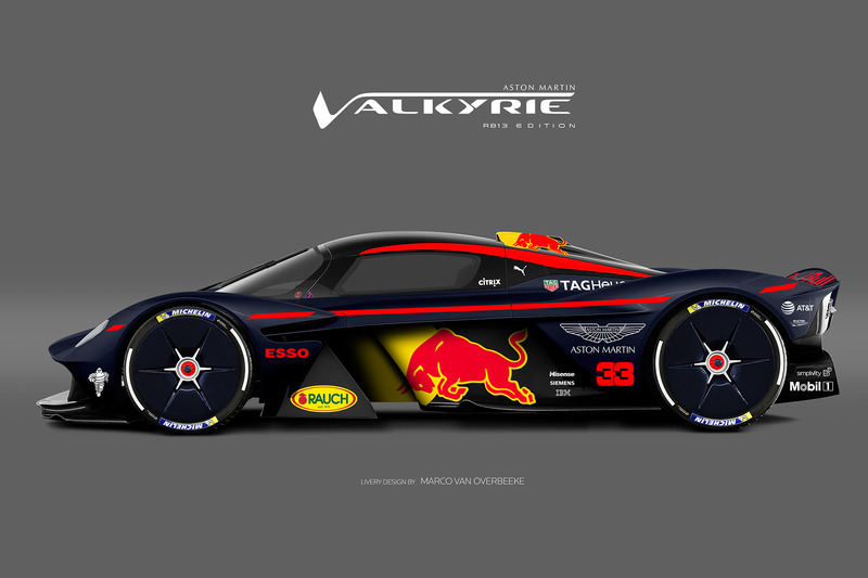 Valkyrie Red Bull livery 2