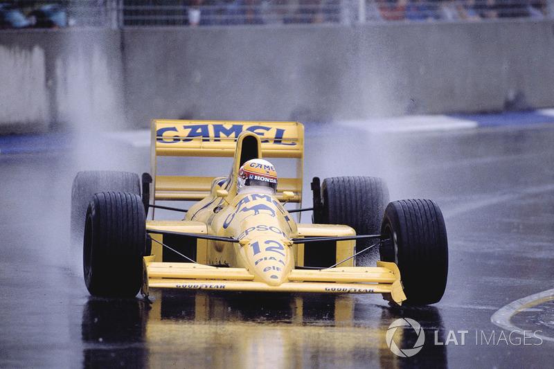Satoru Nakajima, Lotus 101 Judd