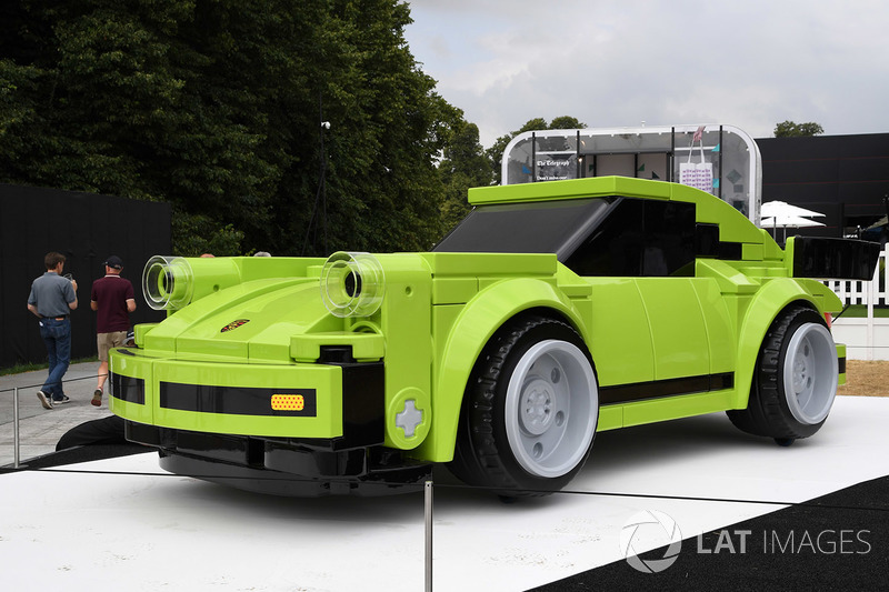 Large Lego Porsche