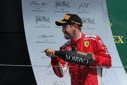 Sebastian Vettel, Ferrari celebra