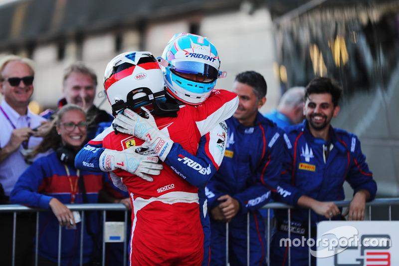 Trident a signé le triplé avec Piquet et Alesi devant Ryan Tveter