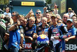Il secondo classificato Michael van der Mark, Pata Yamaha