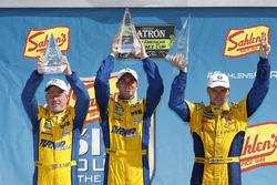 #96 Turner Motorsport BMW M6 GT3, GTD: Dillon Machavern, Bill Auberlen, Don Yount, podium