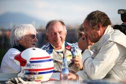 Bernie Ecclestone, Toine Hezemans, BMW 3.0 CSL et Gerhard Berger, Porsche 935