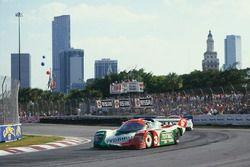 #3 Porsche 962: Oscar Larrauri, Massimo Sigala