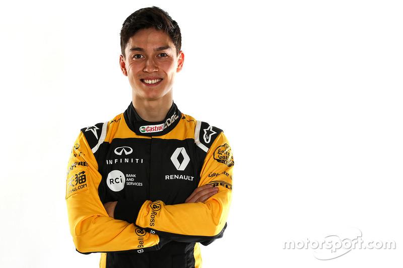 Jack Aitken, pilote de réserve Renault