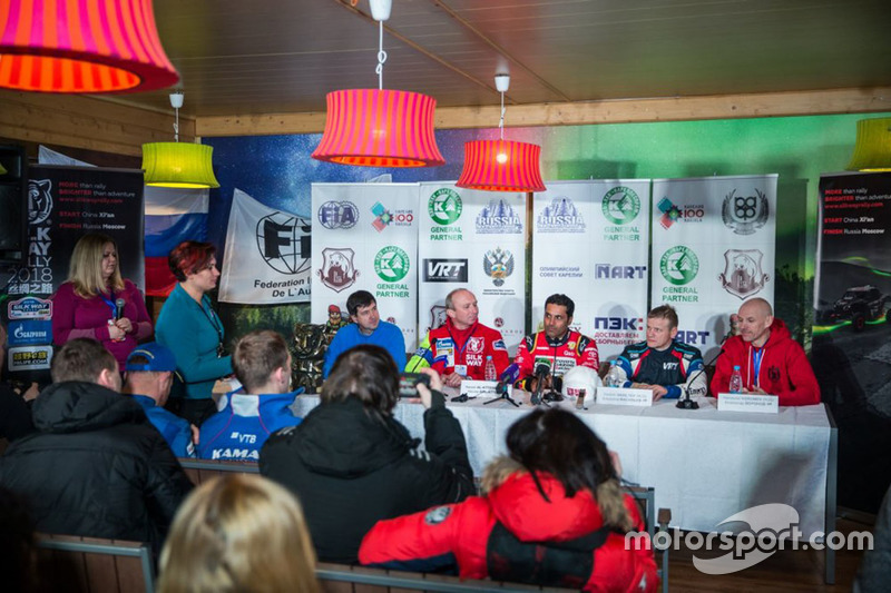 Press conference at Baja Russia