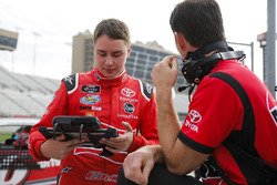 Christopher Bell, Joe Gibbs Racing, Ruud Toyota Camry e il crew chief Jason Ratcliff