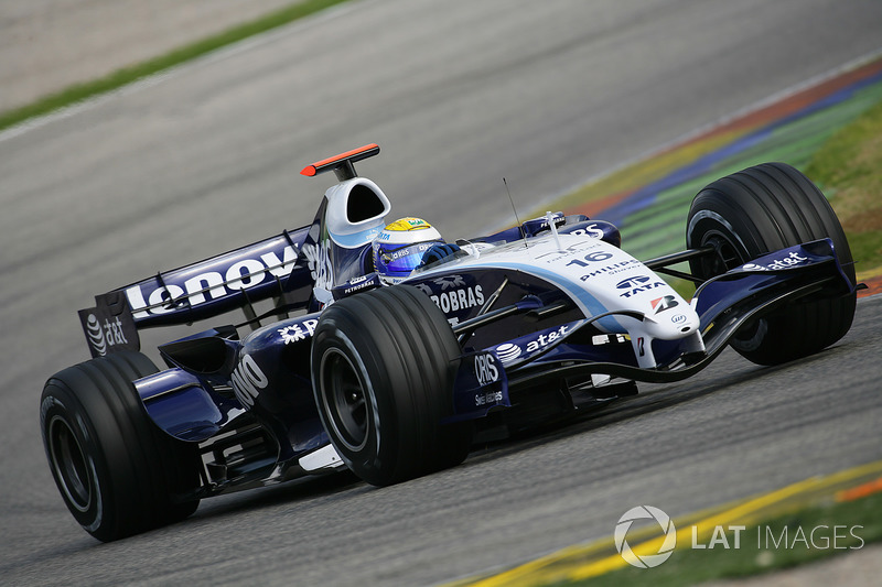 2007 (Nico Rosberg, Williams-Toyota FW29)