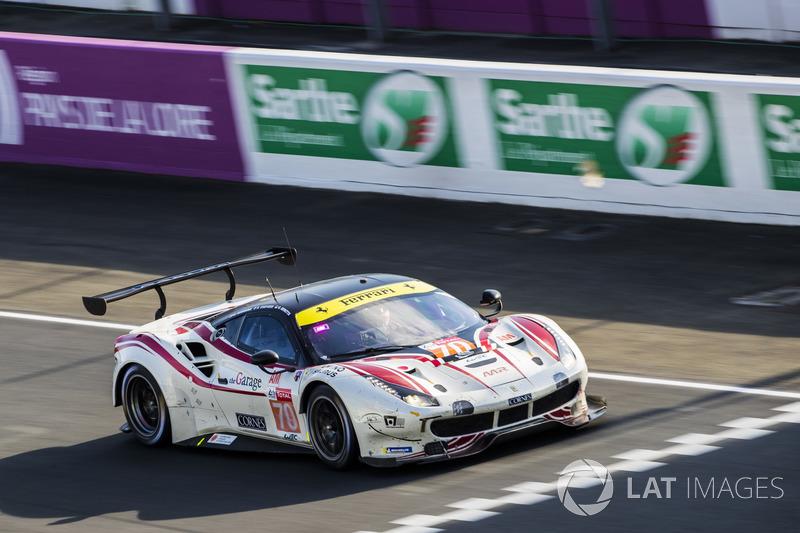 LMGTE-Am: #70 MR Racing, Ferrari 488 GTE