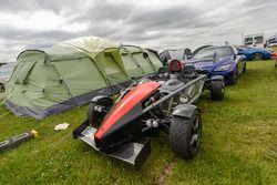 Sfeer op de camping van Le Mans
