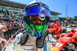 Felipe Massa, Williams celebrates in parc ferme