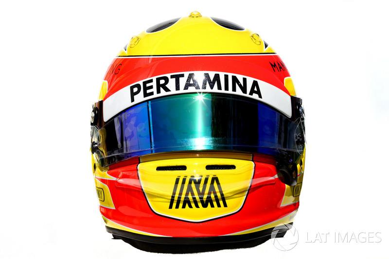 Casco de Rio Haryanto, Manor Racing