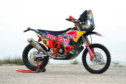 La moto de Antoine Meo, Red Bull KTM Factory Team