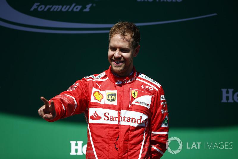 """1. Sebastian Vettel, Ferrari - """"Enkele zware weken achter de rug"""""""