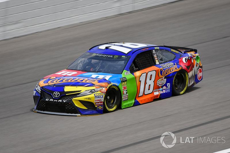 3. Kyle Busch, Joe Gibbs Racing, Toyota Camry M&M's Caramel