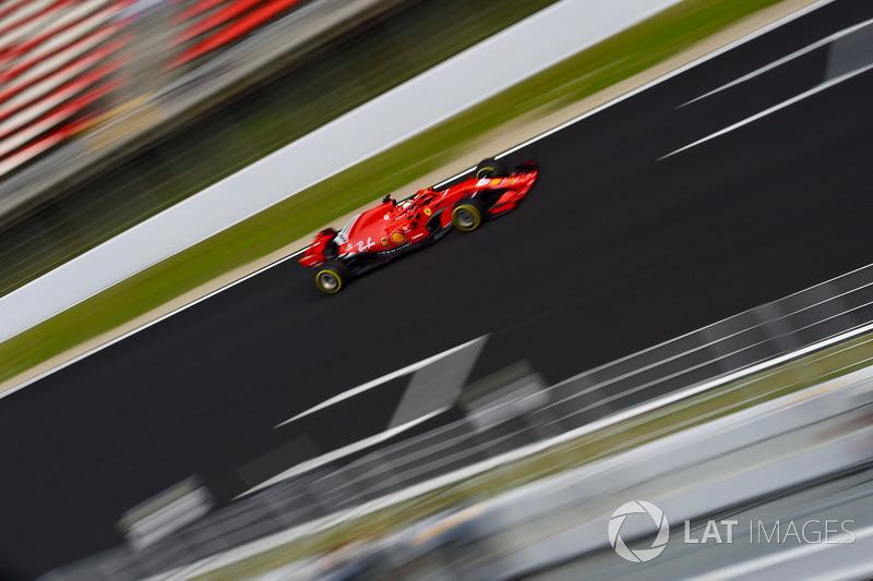 Sebastian Vettel foi o mais rápido do dia, com 1min19s673