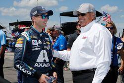 William Byron, Hendrick Motorsports, Chevrolet Camaro AXALTA/IMRON Rick Hendrick