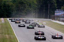 Alexander Rossi, Andretti Autosport Honda en tête au départ