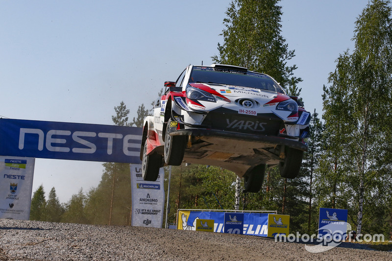 Яри-Матти Латвала и Миикка Анттила, Toyota Yaris WRC, Toyota Gazoo Racing