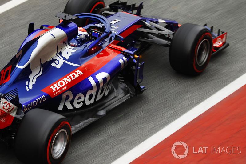 2º Honda (Toro Rosso): 822 vueltas.