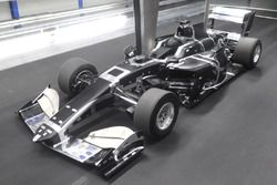 Model terowongan angin Dallara SF19