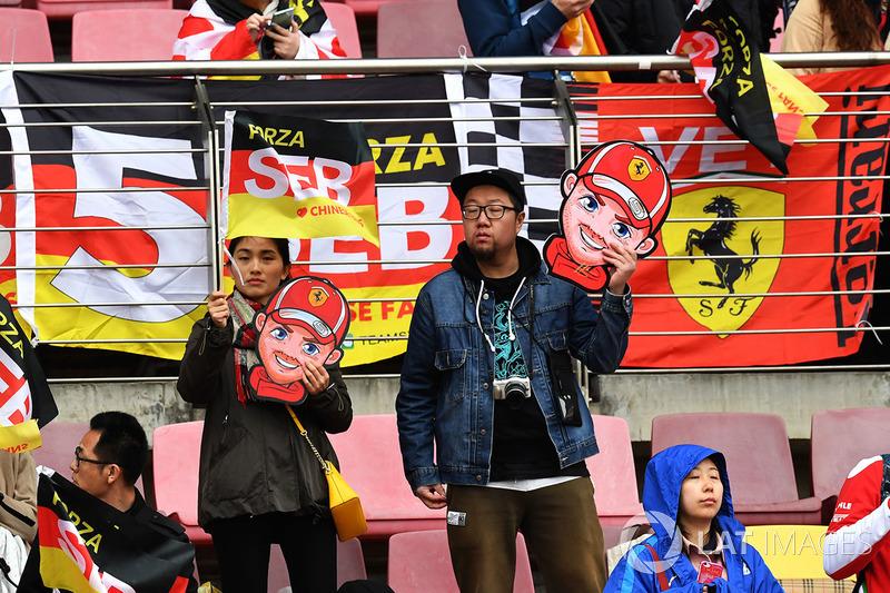 Fan di Sebastian Vettel, Ferrari