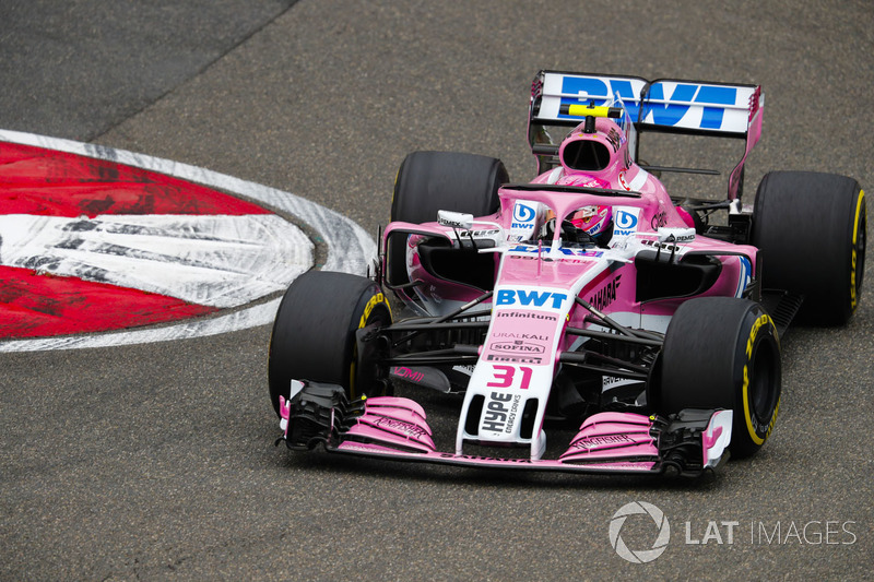 11. Esteban Ocon, Force India VJM11