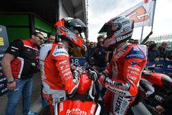 Il secondo classificato Matteo Ferrari, Barni Racing e il vincitore Michele Pirro, Barni Racing