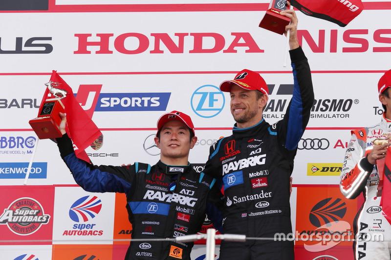 Naoki Yamamoto & Jenson Button