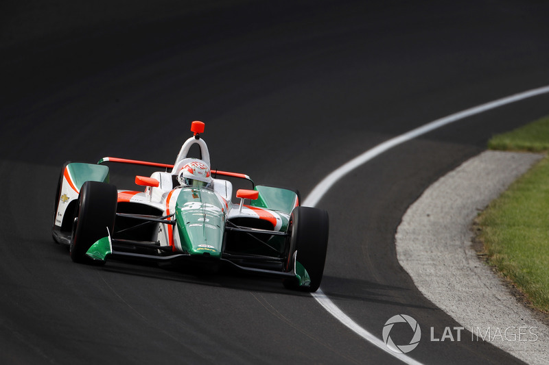 DNF: Kyle Kaiser, Juncos Racing, Chevrolet