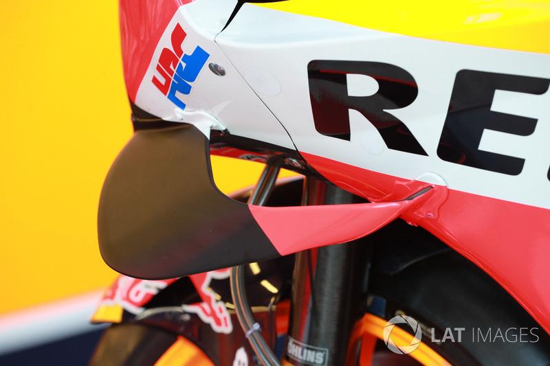 Обтічник на мотоциклі Марка Маркеса, Repsol Honda Team, fairing