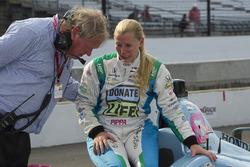 Pippa Mann, Dale Coyne Racing Honda, mit Dale Coyne