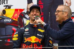 Daniel Ricciardo tijdens de Jumbo Racedagen