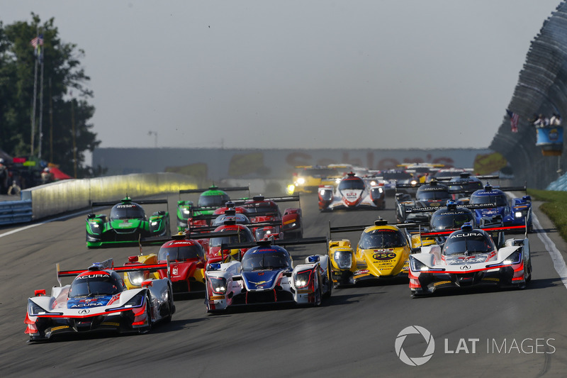 Sahlen's Six Hours of The Glen, Start Shot, Green Flag, American Flag