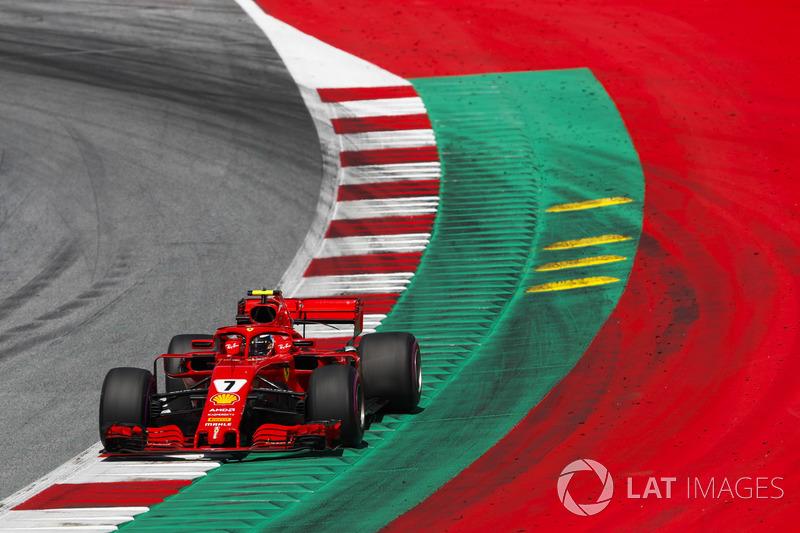 Gran Premio de Austria-Kimi Raikkonen