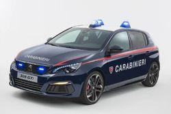 Peugeot 308 GTI 2018 Carabinieri