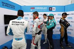 Sébastien Buemi, Renault e.Dams, Maro Engel, Venturi Formula E, Alex Lynn, DS Virgin Racing, Luca Fi