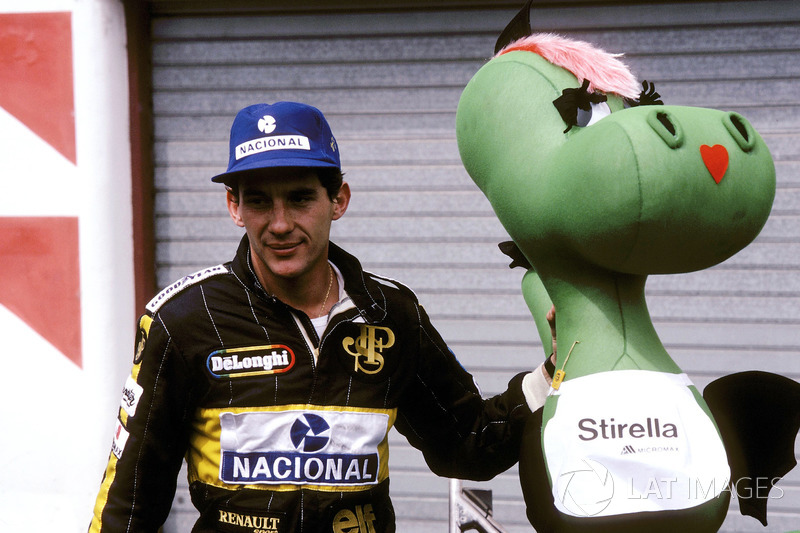 San Marino 1986: Ayrton Senna, Lotus 98T