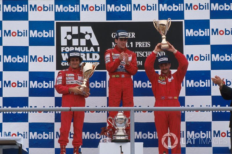 25. GP de Alemania 1989: Ayrton Senna y Alain Prost (McLaren)