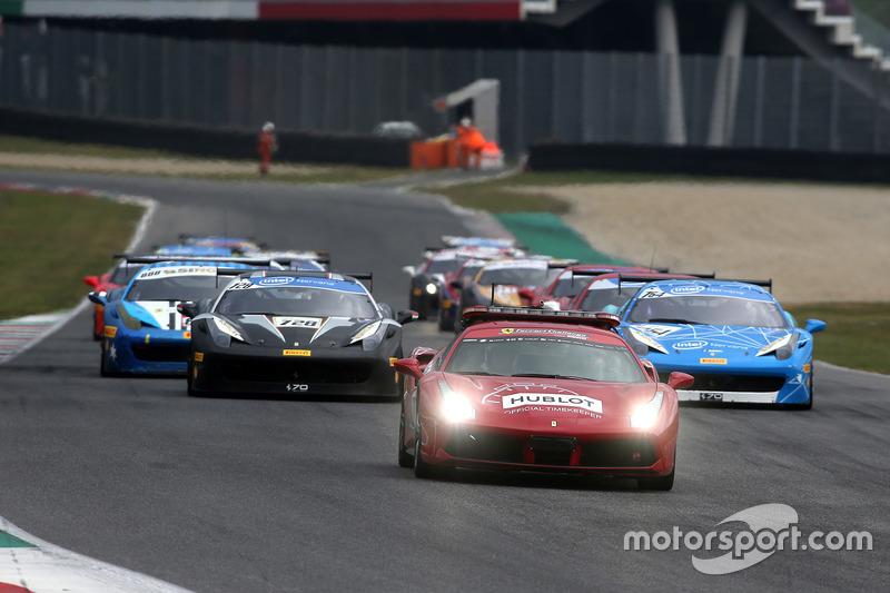 Giro di formazione Finale Mondiale Ferrari 458