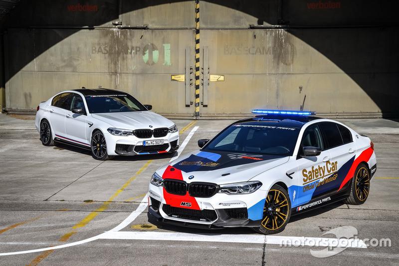 BMW M5 MotoGP Safety Car met de BMW M5