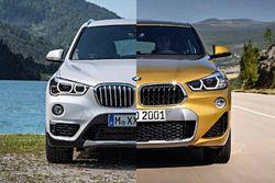 BMW X2 2018 vs. BMW X1