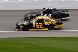 Brendan Gaughan, Richard Childress Racing Chevrolet, J.J. Yeley, TriStar Motorsports Toyota