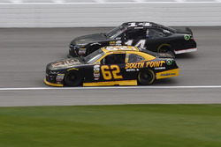 Brendan Gaughan, Richard Childress Racing Chevrolet, J.J. Yeley, TriStar Motorsports Toyota