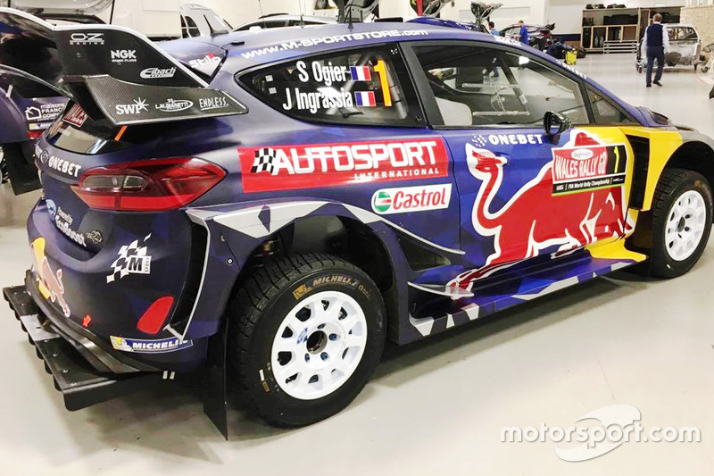 Autosport International en el Ford Fiesta WRC, M-Sport