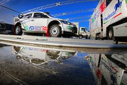 El coche de Fabio Andolfi, Simone Scattolin, ACI Team Italia Hyundai R20 i5