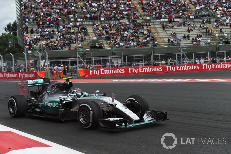 2015: Nico Rosberg, Mercedes F1 W06